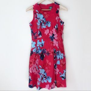 Vince Camuto Floral Fit & Flare Dress